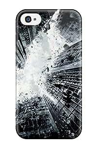 Unique Design Iphone 4/4s Durable Tpu Case Cover The Dark Knight Rises 2