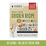 Honest Kitchen Human Grade Dehydrated Organic Grain Chicken Dog Food Box, 10 lb Larger Image