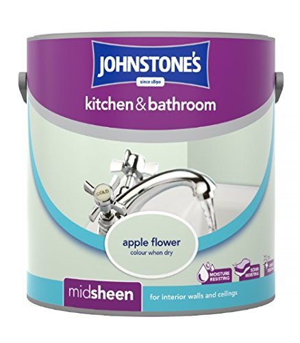 Johnstone's 307062 2.5 Litre Kitchen and Bathroom Emulsion Paint - Raspberry Blush PPG Architectural Coatings UK & Ireland