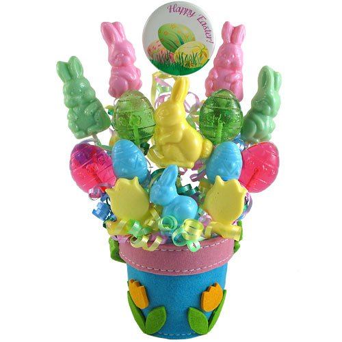 """Happy Easter!"" Lollipop Bouquet"
