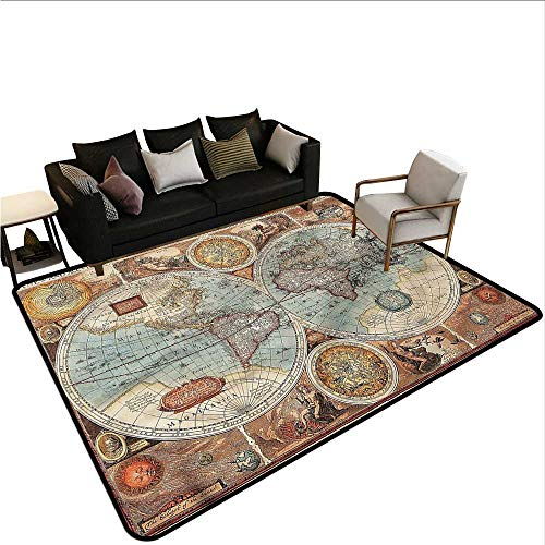 Vintage,Dining Table Rugs 64