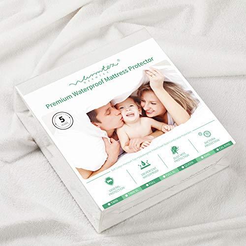 Waterproof Fitted Sheet Queen Mattress Protector Bed