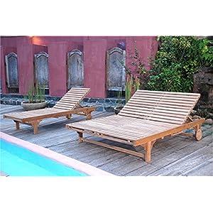 51pMsebuBcL._SS300_ Teak Lounge Chairs & Teak Chaise Lounges