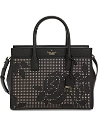 new york Cameron Street Perforated Candace Satchel Bag, Black