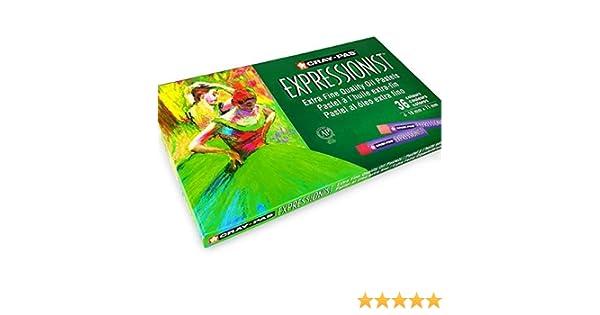 10mm X 71mm Extra Fino Calidad Pack de 36 Sakura Cray-Pas Expresionista Pastel Al /Óleo