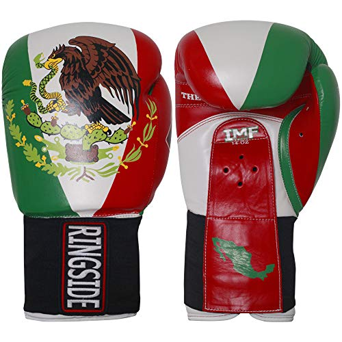 Ringside Limited Edition Mexico IMF Tech Boxing Training Sparring Gloves (Ringside Boxing Gloves)