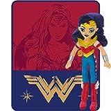 Wonder Woman Blanket & Pillow Plush Bedding Set