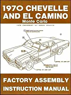 51pMuDdIY0L._AC_UL320_SR242320_ 1970 chevelle wiring diagram manual reprint malibu, ss, el camino 1970 chevelle wiring schematic at panicattacktreatment.co