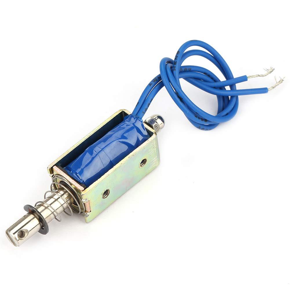 Electroim/án 5N,JF-0530B Solenoide CC tipo solenoide CC Control automatizaci/ón el/éctrico magn/ético 6//12//24 V CC 300 mA Rango retr/áctil 10 mm para equipos control de automatizaci/ón industri 24V