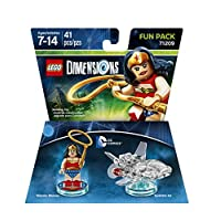 DC Wonder Woman Fun Pack - Dimensiones LEGO