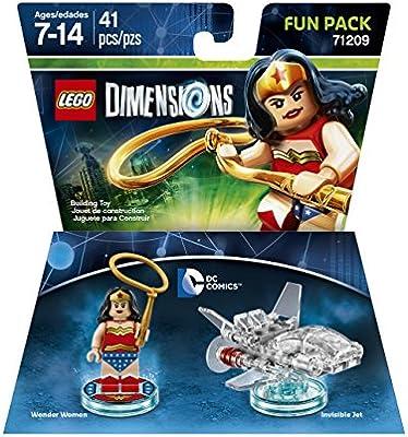 LEGO Dimensions Fun Pack: DC Wonder Woman by LEGO: Amazon.es ...