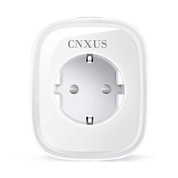 Intelligente WLAN Steckdose, CNXUS Smart Plug / Wifi Steckdose ...