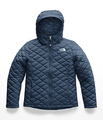 The North Face NF0A3CW8 Girls' Thermoball Hoodie, Blue Wing Teal - L ()
