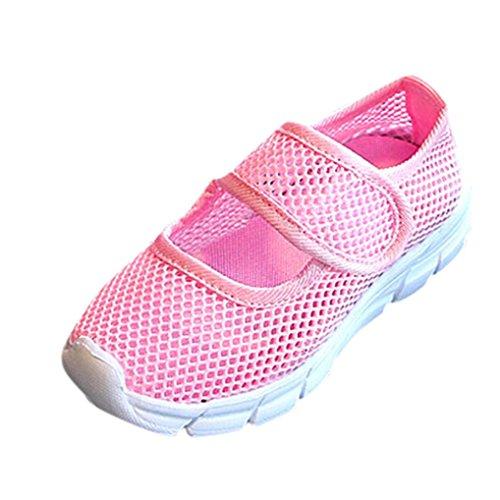 Fitness Spiaggia Basket SmrBeauty Sneakers Scarpe Ginnastica Scarpe Traspirante Punta Unisex da all'Aperto Corsa da Rosa da Interior Bambini chiusa Scarpe Trekking Casual Sportive SS6qw1xAE