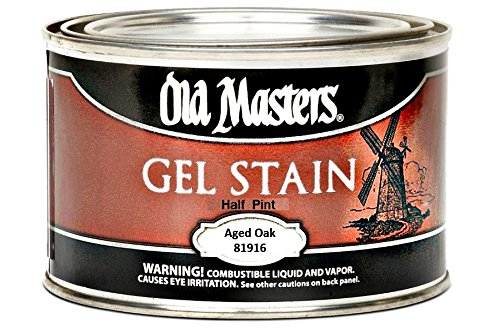 Old Masters 81916 Gel Stain, Aged Oak - 1/2 Pint ()