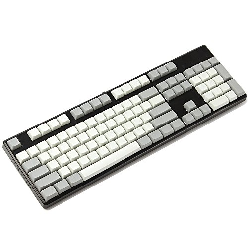XDA 142 Key Full Set Keyset Blank Similar to DSA For MX Mechanical Keyboard Steelseries Ergo Filco Leopold Cosair Noppoo Planck (142 Blank)