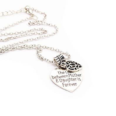 Luoem Mother Daughter Necklace The Love Between Mother And Daughter