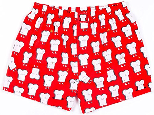 Lousy Livin Underwear Herren Boxershorts Toast grenadine 761
