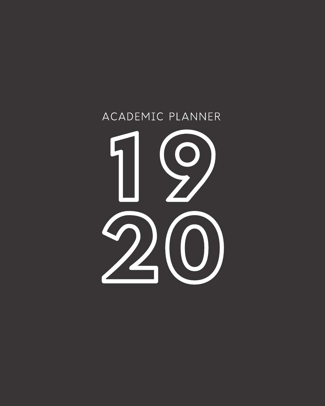 Amazon.com: 19 20: Weekly and Monthly Academic Calendar ...