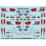 A-463 アシタのデカール 1/144 F-14A VF-1 ウルフパック「ザ・ファースト・トムキャット」