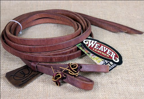 (Weaver Leather Pro Tack Oiled Leather Split Reins)