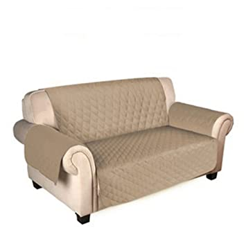 Funda protectora para sofá de perro, impermeable, antideslizante, funda de cojín para sofá