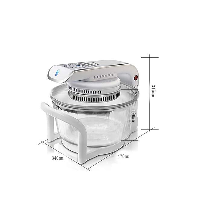 Amazon.com: JINRU - Freidora eléctrica de uso doméstico para ...