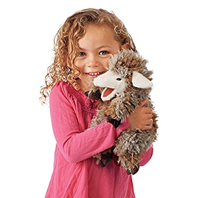 Folkmanis Woolly Lamb Hand Puppet from Folkmanis Puppets