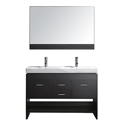 mirrors iotti ceramic inch gw product sink included white bathroom with glossy double vanity