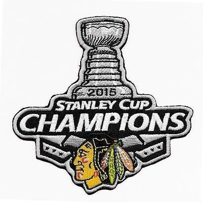 """Chicago Blackhawks 2015 Stanley Cup Champions 4"""" Patch by Your Sports Memorabilia Store"""