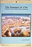 Front cover for the book The Summer of 1744: A Portrait of Life in 18th-Century Louisbourg by A. J. B. Johnston