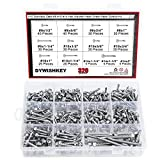 DYWISHKEY 320 Pieces 410 Stainless Steel #8#10#14