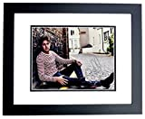 Niall Horan Signed - Autographed 1D One Direction Singer 12x18 inch Photo BLACK CUSTOM FRAME - Guaranteed to pass or JSA - PSA/DNA Certified