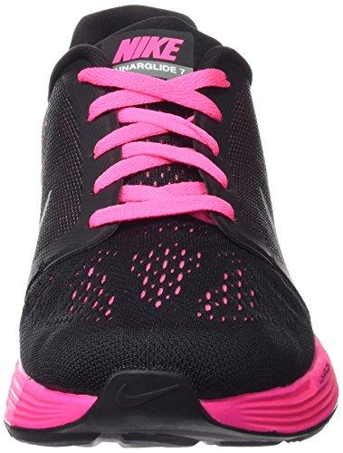 sale retailer 7b36c 7d903 reduced nike lunarglide 7 gs zapatillas de running para niñas negro  plateado ac2ea 97737