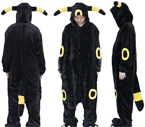 bettyhome Adult Anime Unisex Pyjamas Kigurumi Halloween Night Elf Onesie Costume (L Size (height: 65