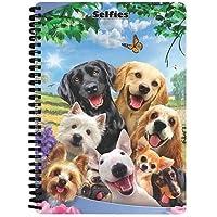 Super 3D Howard Robinson Dog Selfie A4 Notebook (Boenjoy Gifts)