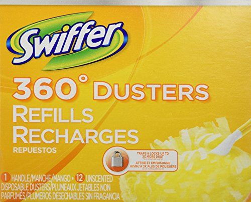 Swiffer 360 Dusters with 1 Handle