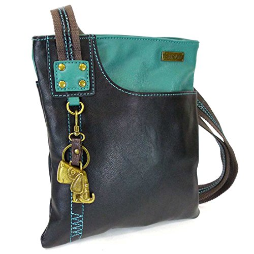 Key with Bag Mini Crossbody PU Turquoise Dog 609 Phone SOFT Purse Chala fob SWING Metal Detachable Leather f80qwPP