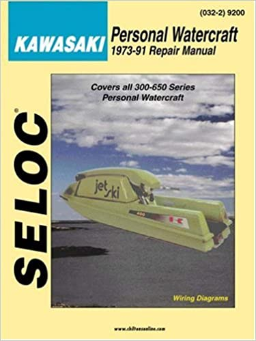 personal watercraft: kawasaki 1973-91 (marine manuals): seloc:  0715568000323: amazon com: books