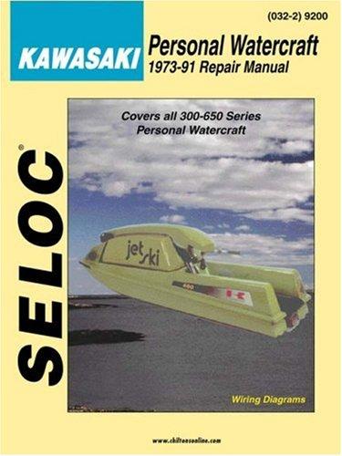 Personal Watercraft: Kawasaki 1973-91 (Marine -