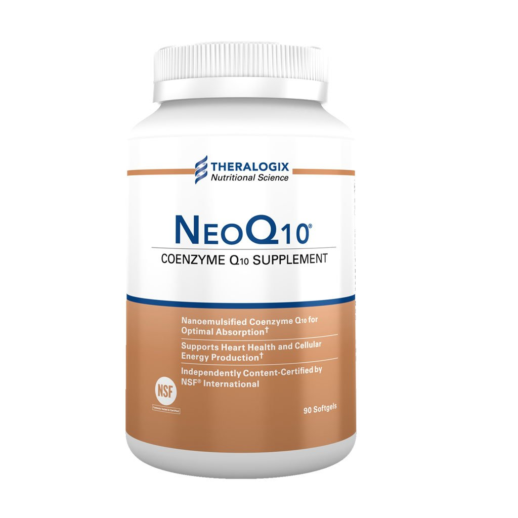 NeoQ10 | Enhanced Absorption Coenzyme Q10 (CoQ10) | 90 softgels by Theralogix