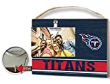 KH Sports Fan Clip It Colored Logo Photo Frame Tennessee Titans