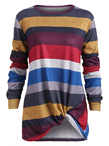 Snowboard Pants Union (KCatsy Regular Color Blocking Striped Twist Front T Shirt)