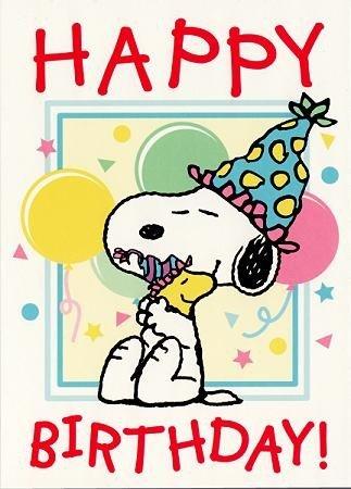 Snoopy Postal Cumpleaños Big Hug: Amazon.es: Oficina y papelería