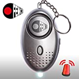 Personal Alarm Keychain – Safesound Security Emergency & Self Defense –Essential Protection and Safety Device for Women Kids and the Elderly – Super Loud 140dB Panic Siren