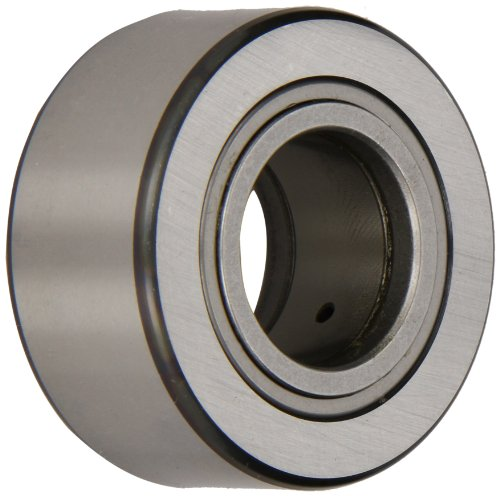 (SKF NUTR 20 X Yoke Type Track Roller, Cylindrical Roller Bearing, Straight Roller, Unsealed, Metric, 20mm Bore, 47mm OD, 25mm Width)