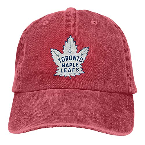 in the spring Hockey-Logo-Toronto-Maple-Leafs Unisex Adult Cap Adjustable Cowboys Hats Baseball Cap Fun Casquette Cap Red (Best Hockey Store In Toronto)