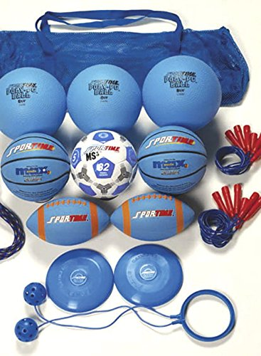 Sportime Recess Pack, Blue, Grade 5 by Sportime