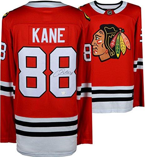 Autographed Authentic Away Jersey - Patrick Kane Chicago Blackhawks Autographed Red Fanatics Breakaway Jersey - Fanatics Authentic Certified