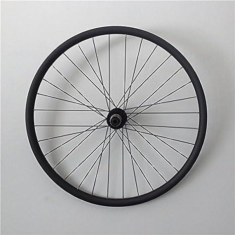 YouCan bicicleta 700 C clincher carbon para bicicleta de montaña ruedas 28 mm altura de 38 mm de ancho 29er MTB ruedas MTB carbono ruedas: Amazon.es: ...